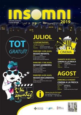 El programa INSOMNI ofereix sessions de cinema gratuïtes per a joves i infants durant l'estiu