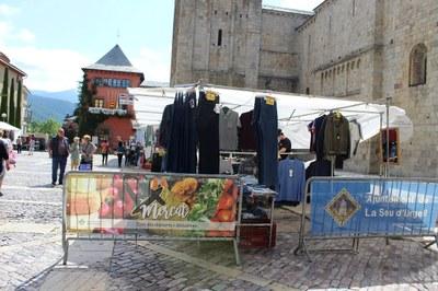 El pròxim dimarts 1 de setembre es reinicia el mercat setmanal de la Seu d'Urgell