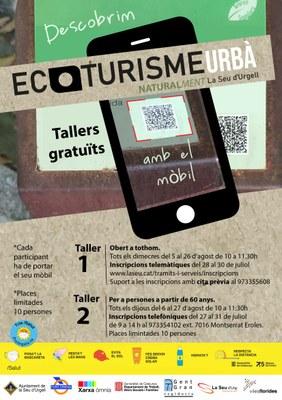 El Punt Òmnia de la Seu d'Urgell ofereix dos tallers gratuïts per conèixer la natura urbana de la ciutat