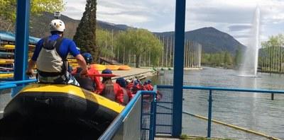 El Ràfting Parc de la Seu d'Urgell llença una promoció per a residents de l'Alt Urgell i Andorra