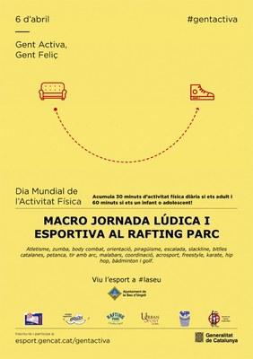 El Rafting Parc de la Seu d'Urgell acull l'acte central del Dia Mundial de l'Activitat Física a Catalunya