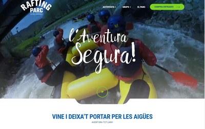 El Rafting Parc de la Seu estrena nou web que permet comprar les activitats on-line