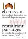 El restaurant Paisatges estrena una exposició artística sobre el croissant
