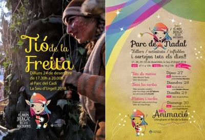 El Tió de la Freita, primera proposta infantil per celebrar el Nadal a la Seu d'Urgell