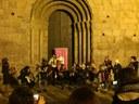 Els alumnes i professors de l'Escola Municipal de Música omplen la ciutat de nadales