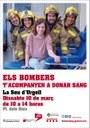 Els Bombers de la Seu tornen a sumar-se a la campanya solidària 'Els bombers t'acompanyen a donar sang'