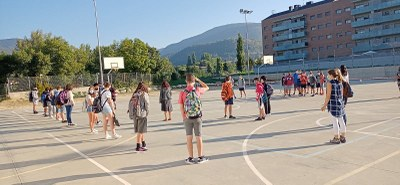 Els centres educatius de la Seu d'Urgell i Castellciutat arrenquen un nou curs emmarcat en mesures de prevenció sanitària per la Covid-19