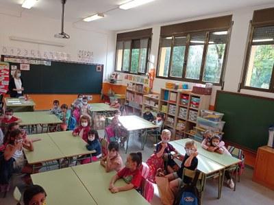Els centres educatius de la Seu d'Urgell i Castellciutat inicien el curs amb normalitat però mantenint algunes de les mesures de prevenció Covid