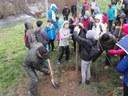 Els escolars de la Seu i Castellciutat celebren el Dia de l'Arbre