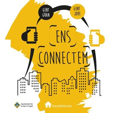 Els i les participants a 'Ens connectem' protagonitzen un vídeo on expliquen aquesta experiència viscuda des del confinament