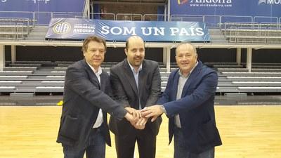 Els millors equips de bàsquet de cadet masculí es donen cita a la Seu d'Urgell i Andorra