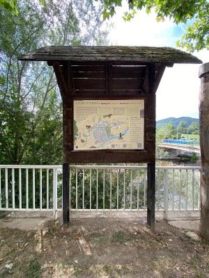 Els plafons turístics de la Seu d'Urgell es renoven amb la incorporació del mapa ecoturístic de 'La Seu d'Urgell, Naturalment'