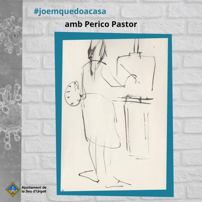 #Emquedopintura, dibuix d'avui del Perico Pastor
