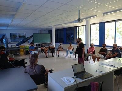 En marxa a la Seu d'Urgell el nou curs del PFI-PTT, enguany amb el nou perfil professional d'auxiliar d'activitats forestals