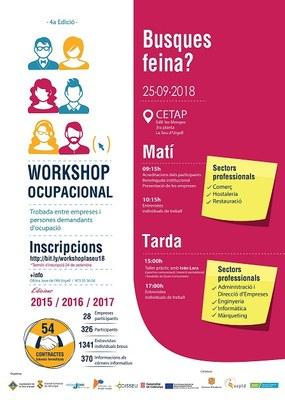 En marxa la quarta edició del Workshop Ocupacional a la Seu d'Urgell