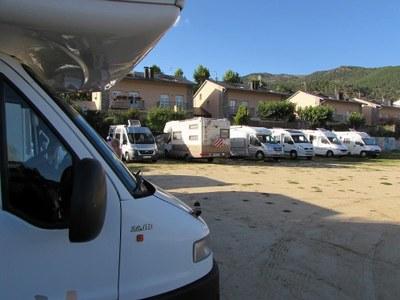Es consolida l'afluència d'autocaravanes a la Seu d'Urgell