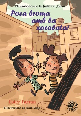 Es presenta a la Biblioteca Sant Agustí el conte infantil 'Poca broma amb la xocolata!'