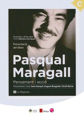 Es presenta a la Seu d'Urgell el llibre 'Pasqual Maragall. Pensament i acció'