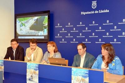 Es presenta la Copa del Món de Canoe Slàlom que se celebrarà aquest cap de setmana a la Seu d'Urgell