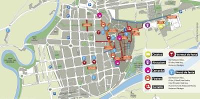 Es recomana a la ciutadania que es desplaci a peu per la Seu d'Urgell durant els dies de Festa Major