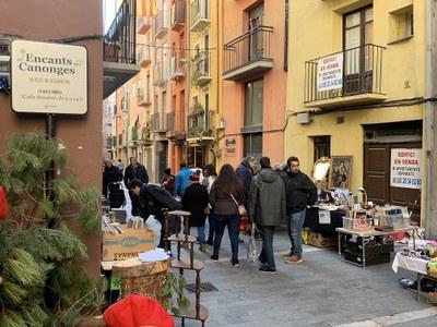 Es reobre el Mercat dels Encants dels Canonges de la Seu d'Urgell després d'un mes d'aturada tècnica