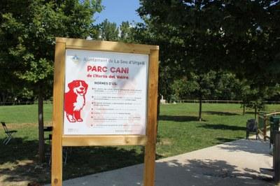 Es reobre el parc caní de la Seu d'Urgell