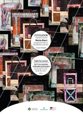 Estoledor, exposició de Núria Riart que completa el vuitè cicle d'art contemporani de la sala 'la Cuina' de la Seu d'Urgell