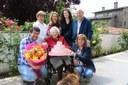 Felicitació institucional a la padrina urgellenca Maria Nebot Bastida pels seus 101 anys