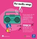 Felicitacions d'aniversari per a joves d'11 a 30 anys per RàdioSeu