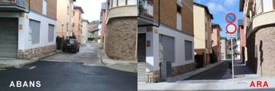 Finalitzades les obres de reurbanització de la Urbanització Mallol