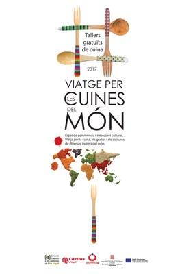 Finalitzat el primer cicle del 'Viatge per les cuines del món', tallers culinaris gratuïts per conèixer altres cultures
