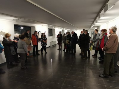 Fins el 29 de febrer es pot visitar a 'la Cuina' l'exposició 'Que nos zurzan', de Sandra March, que reivindica les empremtes corporals