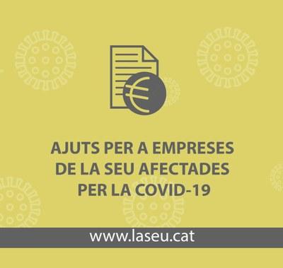 Fins el pròxim 25 de juny es poden sol·licitar els ajuts a autònoms, comerços i empreses de la Seu d'Urgell que han cessat l'activitat a conseqüència de la Covid-19