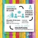 Formació d'higiene i seguretat per activitats de lleure adreçada a monitors i monitores de la Seu d'Urgell i comarca