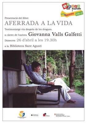 Giovanna Valls presenta a la Seu d'Urgell el seu llibre, 'Aferrada a la vida'