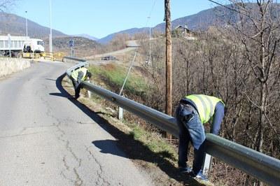 Iniciades les obres d'arranjament del Camí de Sant Isidre a Castellciutat