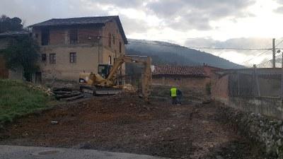 Iniciades les obres a la cruïlla entre els carrers Monturull i Bellavista de la Seu d'Urgell