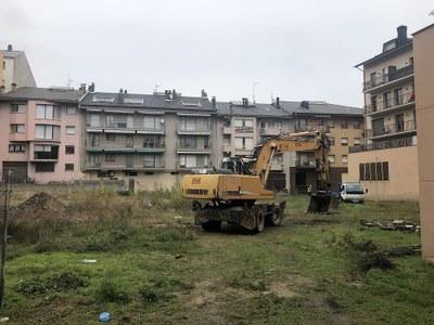 Iniciades les obres de construcció del nou centre de serveis per a les brigades municipals