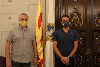 Joan Llobera, nou regidor de l'Ajuntament de la Seu d'Urgell