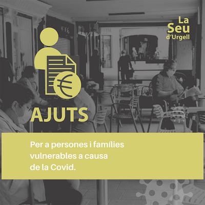 L'Ajuntament de la Seu d'Urgell aprova nous ajuts per a persones i famílies en situació de vulnerabilitat social arrel de la Covid-19