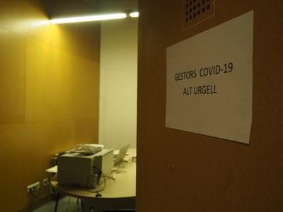L'Ajuntament de la Seu d'Urgell cedeix la Sala Polivalent del Centre Cívic a l'Institut Català de la Salut per a ubicar-hi els gestors COVID