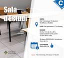 L'Ajuntament de la Seu d'Urgell habilita la sala polivalent del centre cívic el Passeig com a sala d'estudi