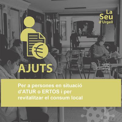 L'Ajuntament de la Seu obre una tercera convocatòria per sol·licitar ajuts per a persones a l'atur o ERTO