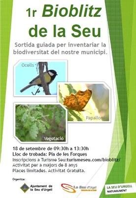 L'Ajuntament de la Seu d'Urgell organitza el primer BioBlitz al Pla de les Forques