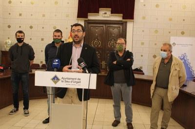 L'Ajuntament de la Seu d'Urgell promou una taula de treball per crear un centre de recerca i desenvolupament de la llet i el formatge