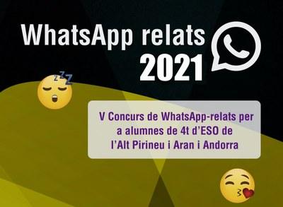 L'Alt Pirineu, Aran i Andorra organitzen la 5a edició del concurs literari transfronterer WhatsApp-Relats