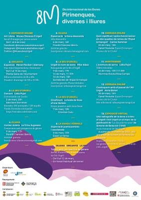 L'Alt Urgell commemorarà el 8M sota el lema Pirinenques, diverses i lliures