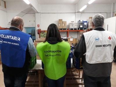 L'Alt Urgell recull prop de 20 mil quilos d'aliments en el Gran Recapte 2018