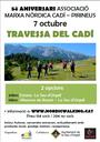 L'Associació Marxa Nòrdica Cadí-Pirineus celebra el seu 5è aniversari amb dues travesses guiades pel Cadí