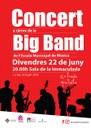 L'Escola Municipal de Música clou el curs amb l'actuació de la seva big band